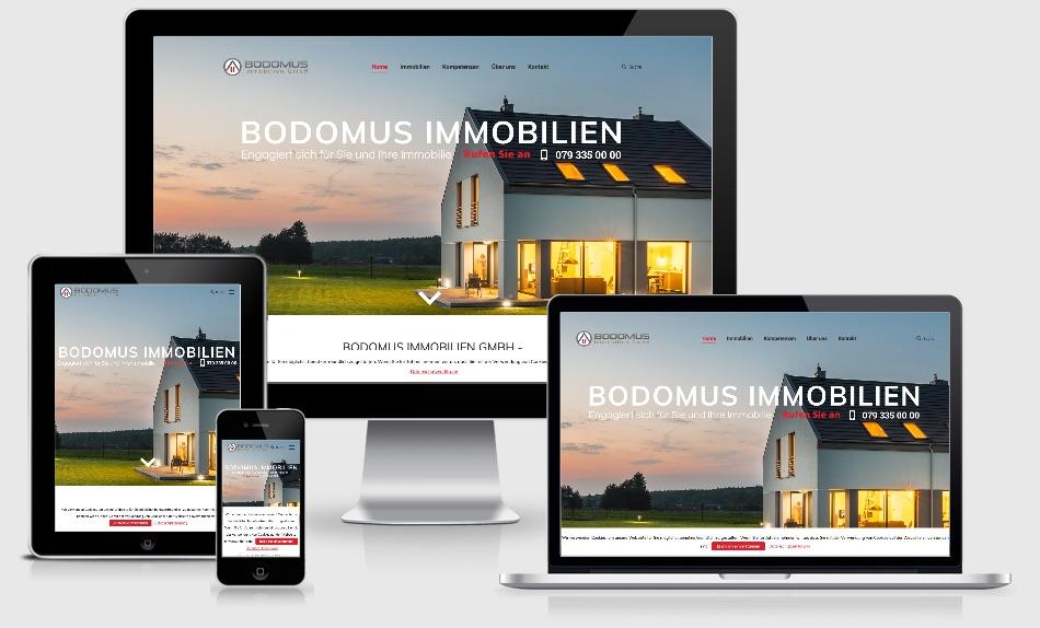 homepage erstellt immobilienmakler